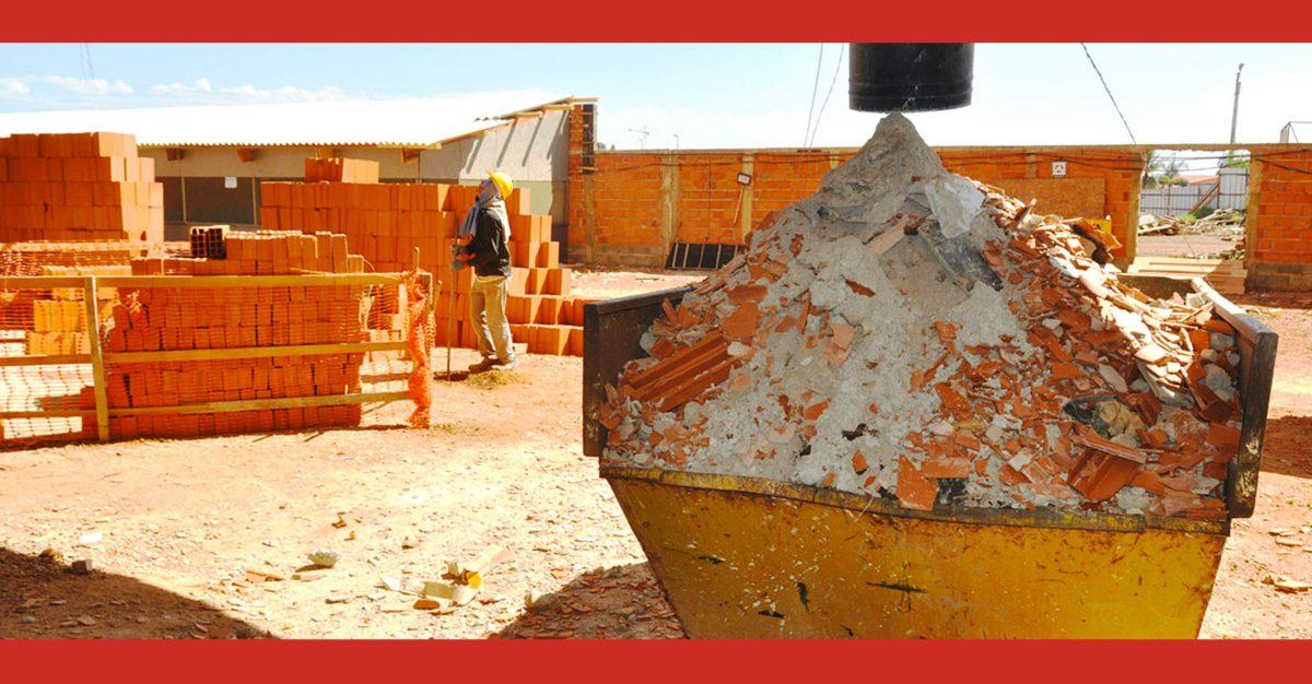 Gestão de resíduos no canteiro de obras: entenda a importância e como efetuá-la!
