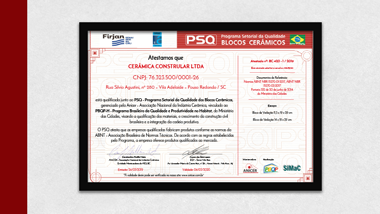 Certificado PSQ